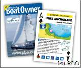 Ankerplätze, ankern rund um England, Englischer Kanal, Kanalinseln, Frankreich: Practical Boat Owner Free Anchorage playing cards - around the UK, Channel Islands and France.