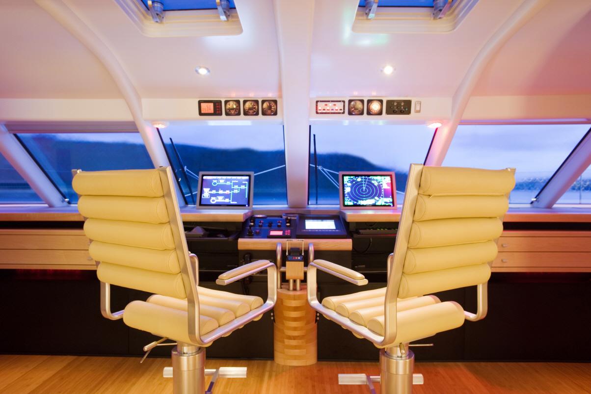 Luxusyachten innen  Yachtfernsehen.com 32-Meter-Segelkat Necker Belle in der Karibik ...
