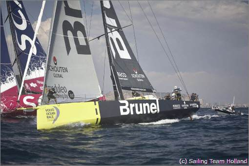 Volvo Ocean Race Sailing Team Holland Brunel