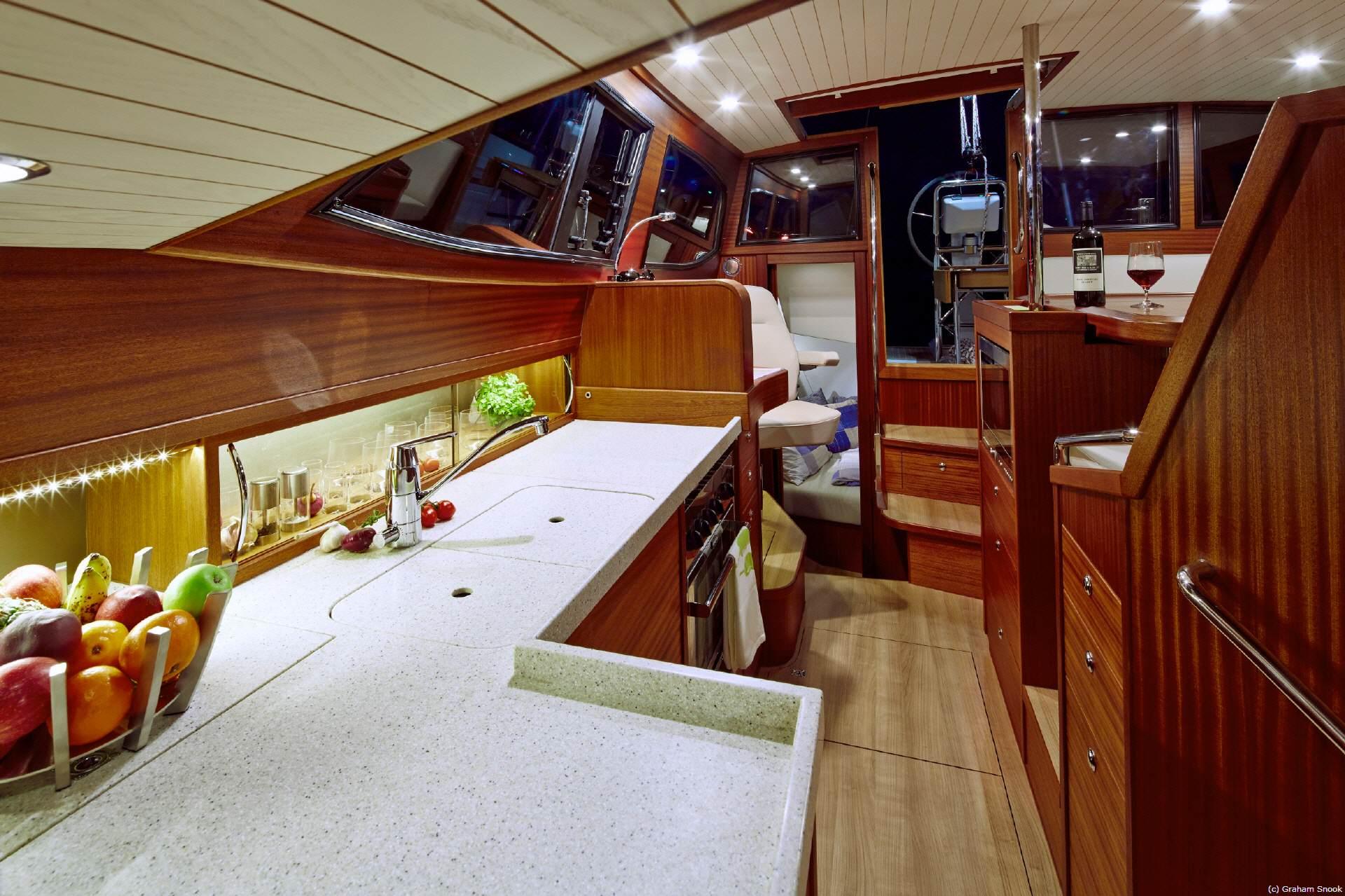 Segelyachten innen  Yachtfernsehen.com Alle über die boot 2015 in Düsseldorf vom 17 ...